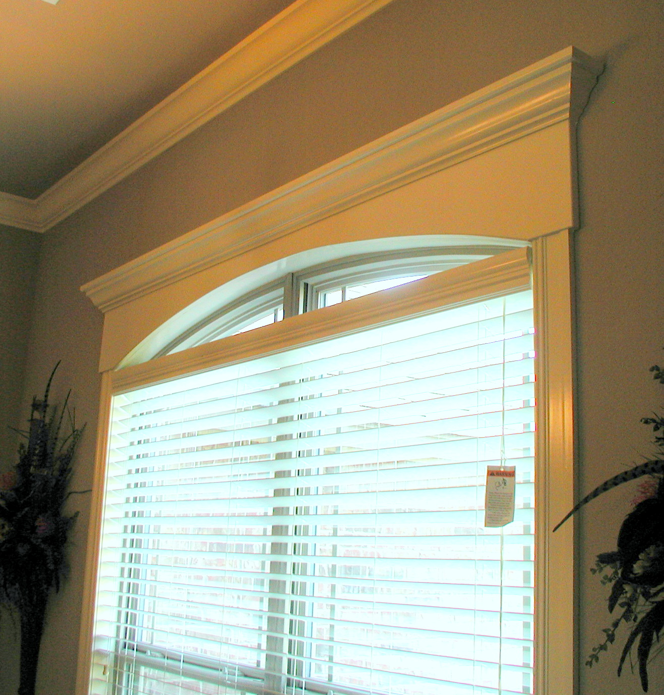 Window Molding | farmhouse window trim love grows wild