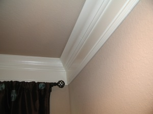 crown molding base below only