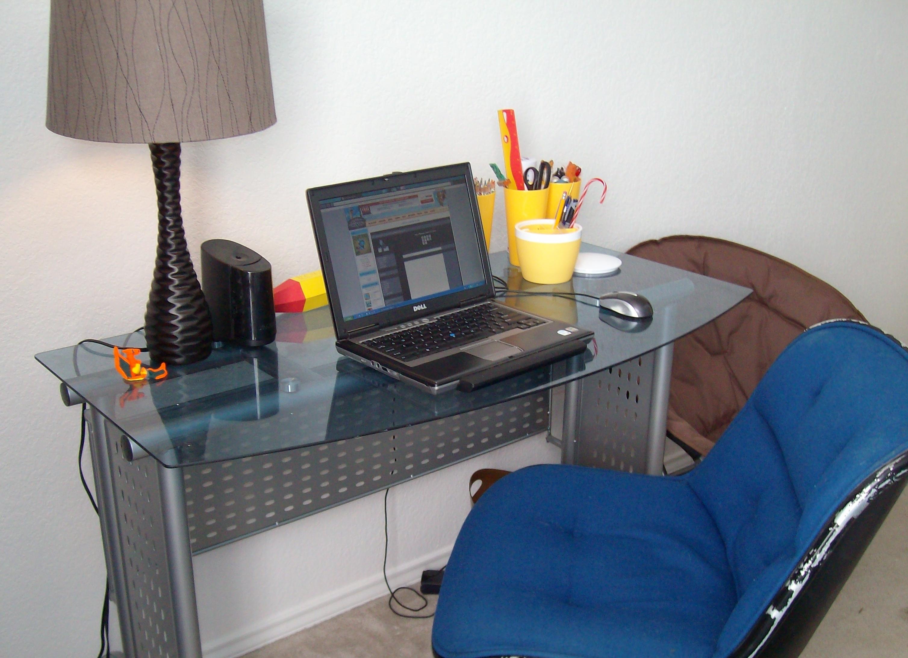 modern desk building plans