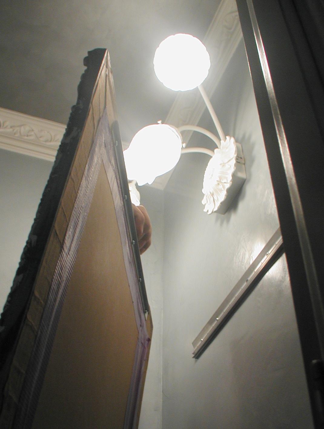 Tip Hanging A Heavy Mirror Front Porch Cozy