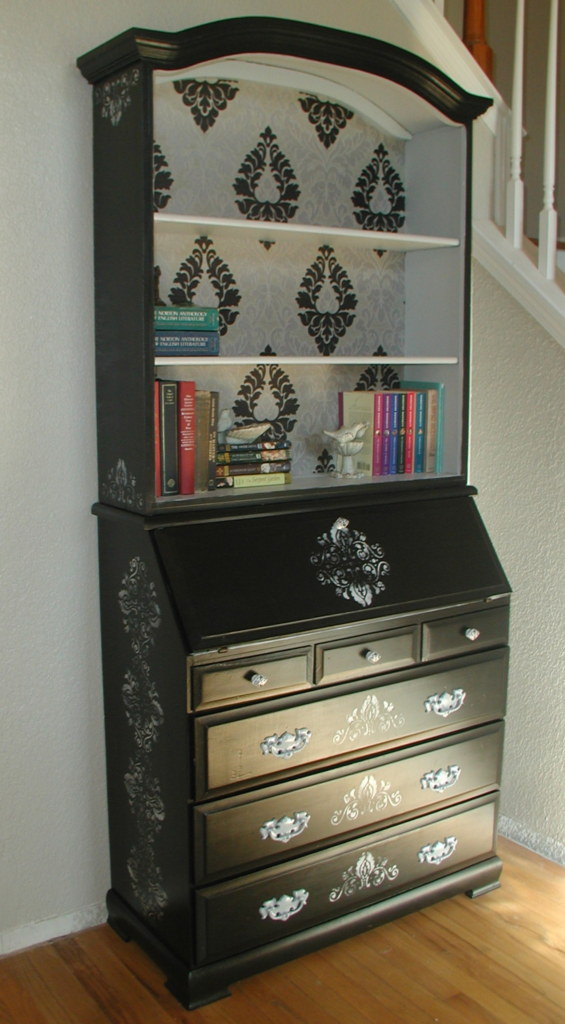 Project Secretary Desk Country To Classic Front Porch