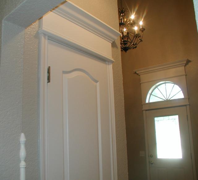 Simple Doorway Trim