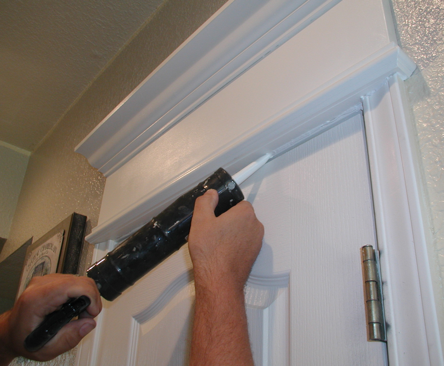 Project Cornice Of Crown Moulding Over Door Simply Rooms By Design