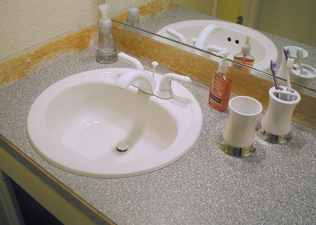 Laminate Vanity Tops For Bathrooms how to paint bathroom countertops bathroom colors countertops