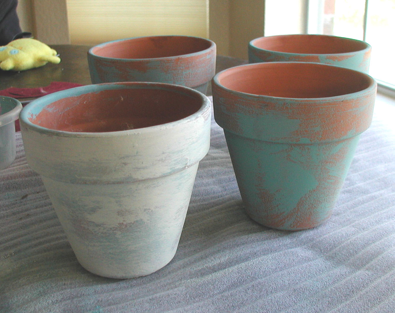 Can I Paint Terracotta Pots