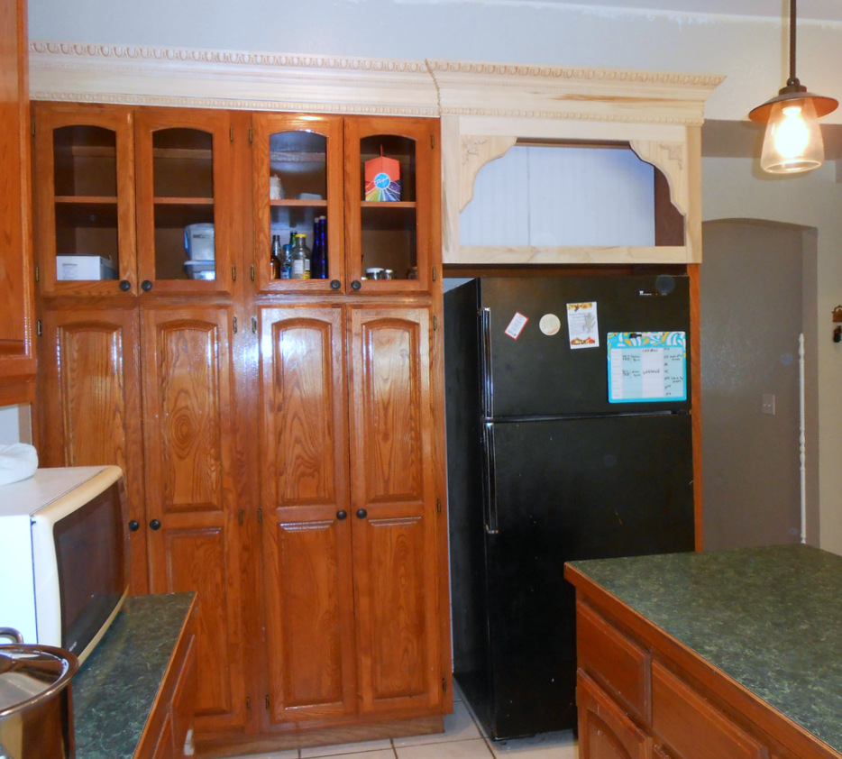 Open Kitchen Cabinets: Project: Making Kitchen Cabinets With Doors Become Open