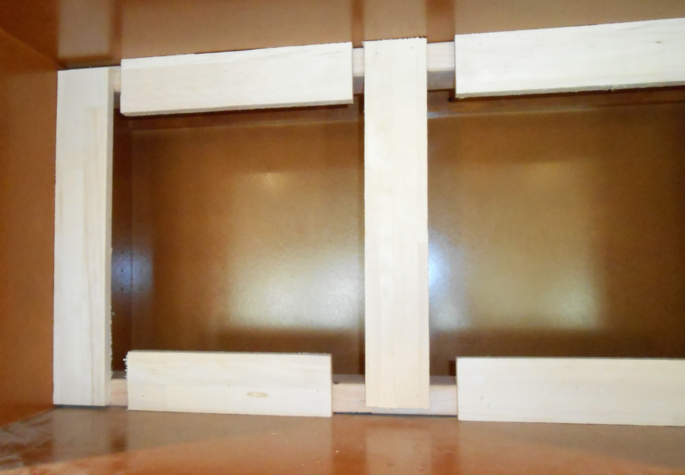 Project Making Kitchen Cabinets With Doors Become Open