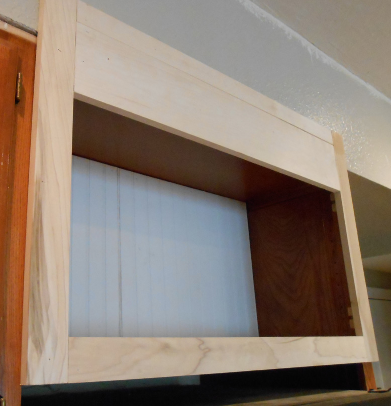Kitchen Cabinet Fridge: Project: Making Kitchen Cabinets With Doors Become Open