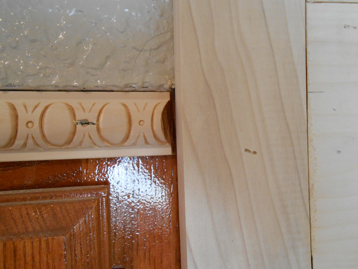Kitchen Cabinets Over Fridge