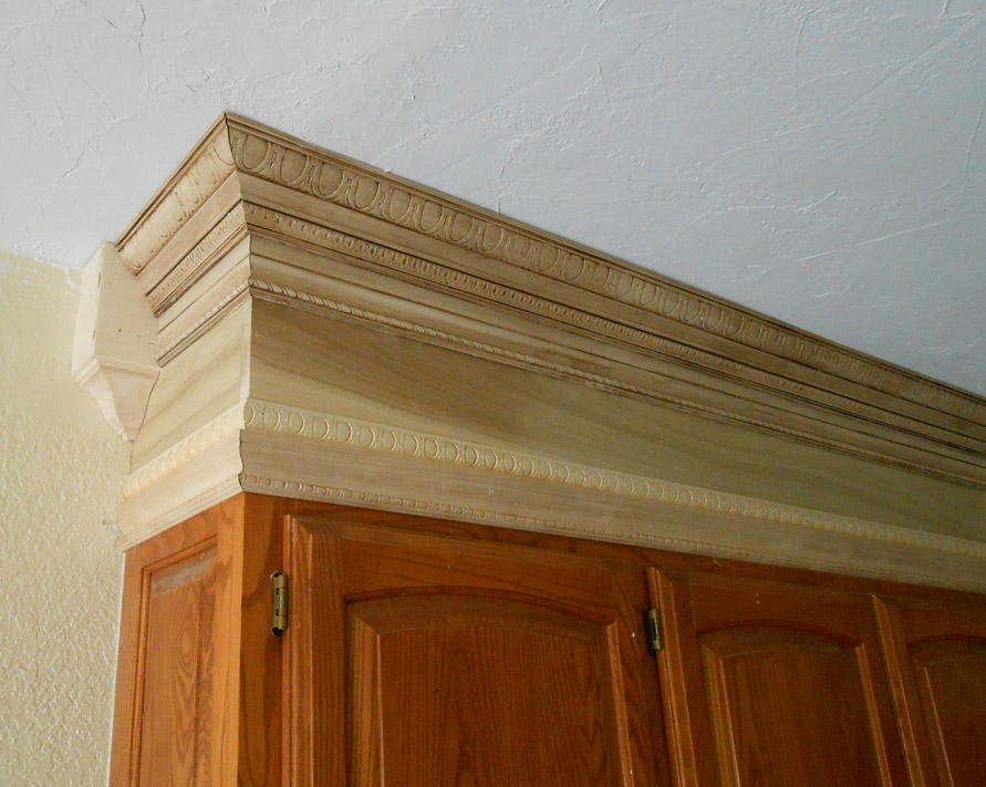 Project Making An Upper Wall Cabinet Taller Kitchen Front Porch Cozy