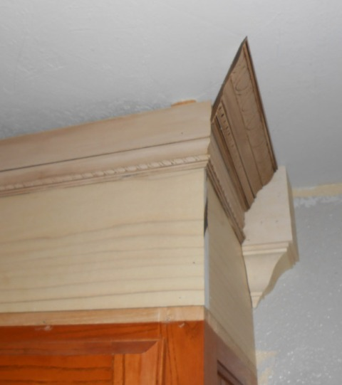 Kitchen Cabinet Crown Molding Installation: Project: Making An Upper Wall Cabinet Taller (kitchen