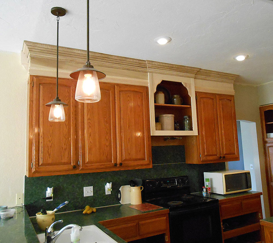 Overhead Kitchen Cabinet: Project: Making An Upper Wall Cabinet Taller (kitchen