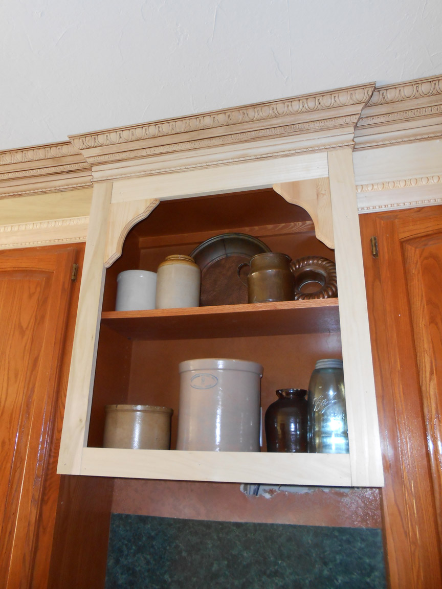 crown molding shelf woodworking plan