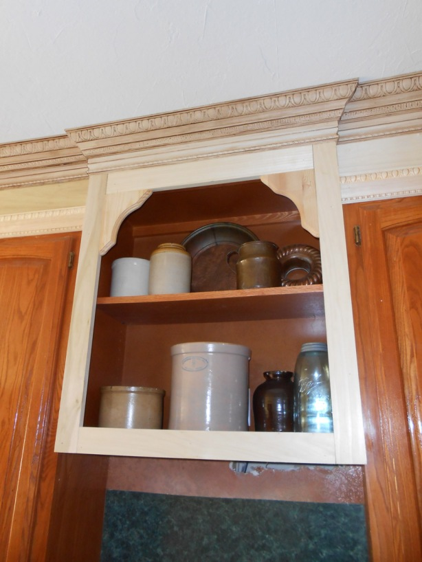 crown molding floating shelf plans