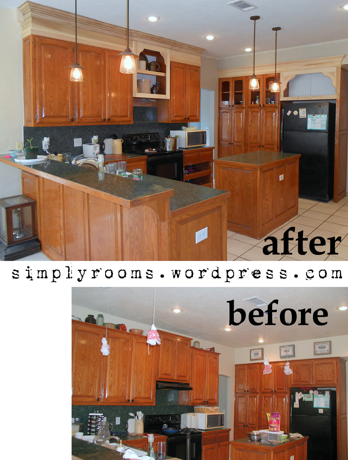 Open Shelf Kitchen Kitchen Remodel Mid Stagejpg