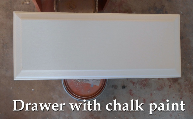 Painting Oak Kitchen Cabinetry With Chalk Paint Drawers