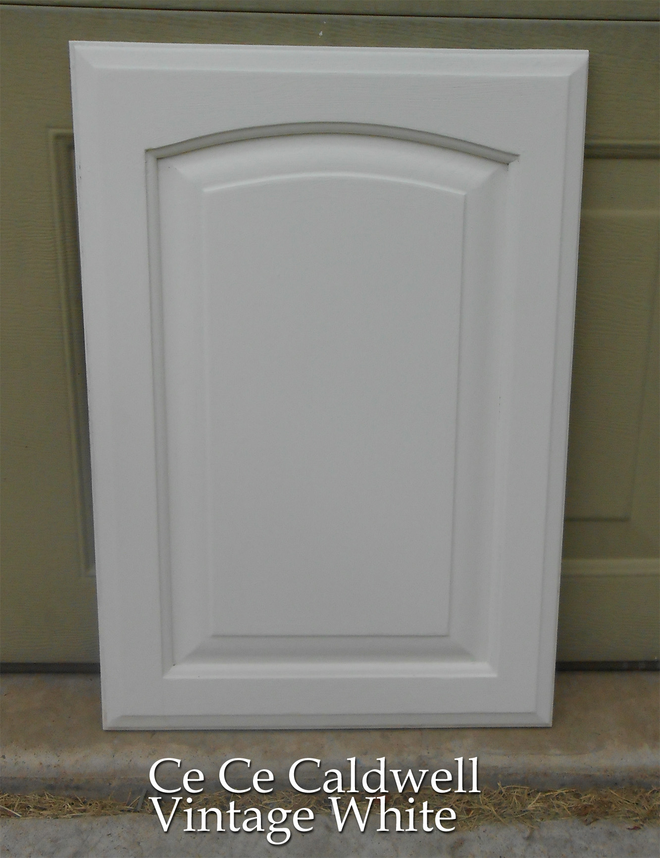 Kitchen s final test cabinet door using chalk paint for Kitchen cabinets doors