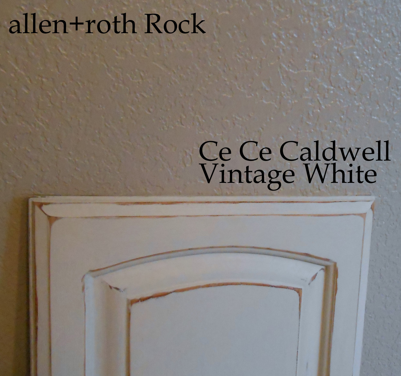 Kitchen S Final Test Cabinet Door Using Chalk Paint Simply Rooms