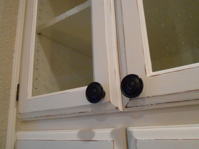 DIY Changing Solid Cabinet Doors To Glass Inserts
