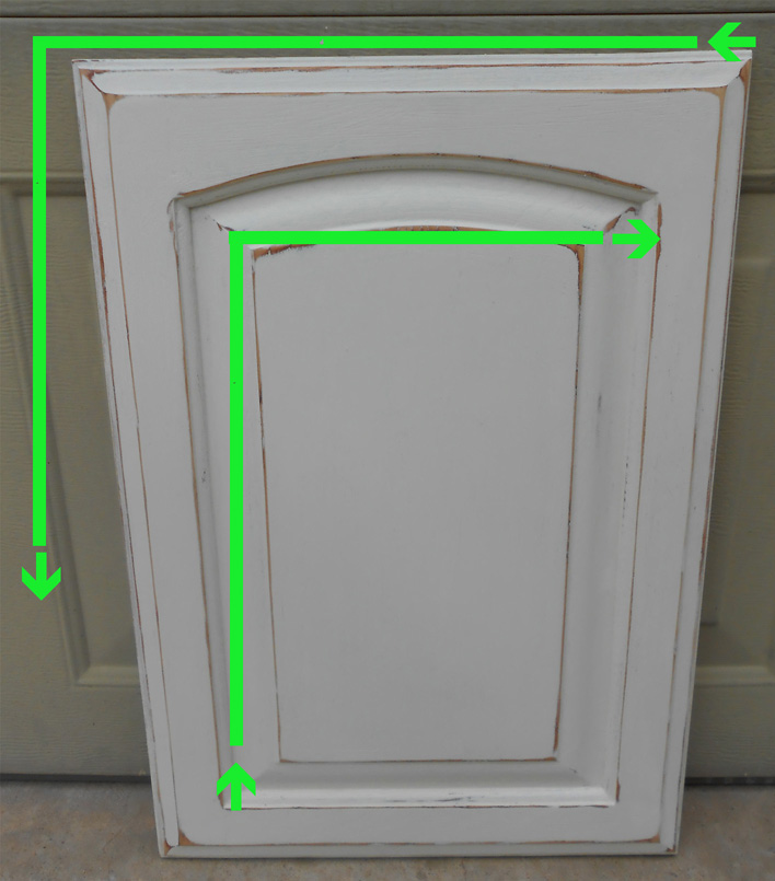 Diy Glazing Kitchen Cabinets: DIY Changing Solid Cabinet Doors To Glass Inserts