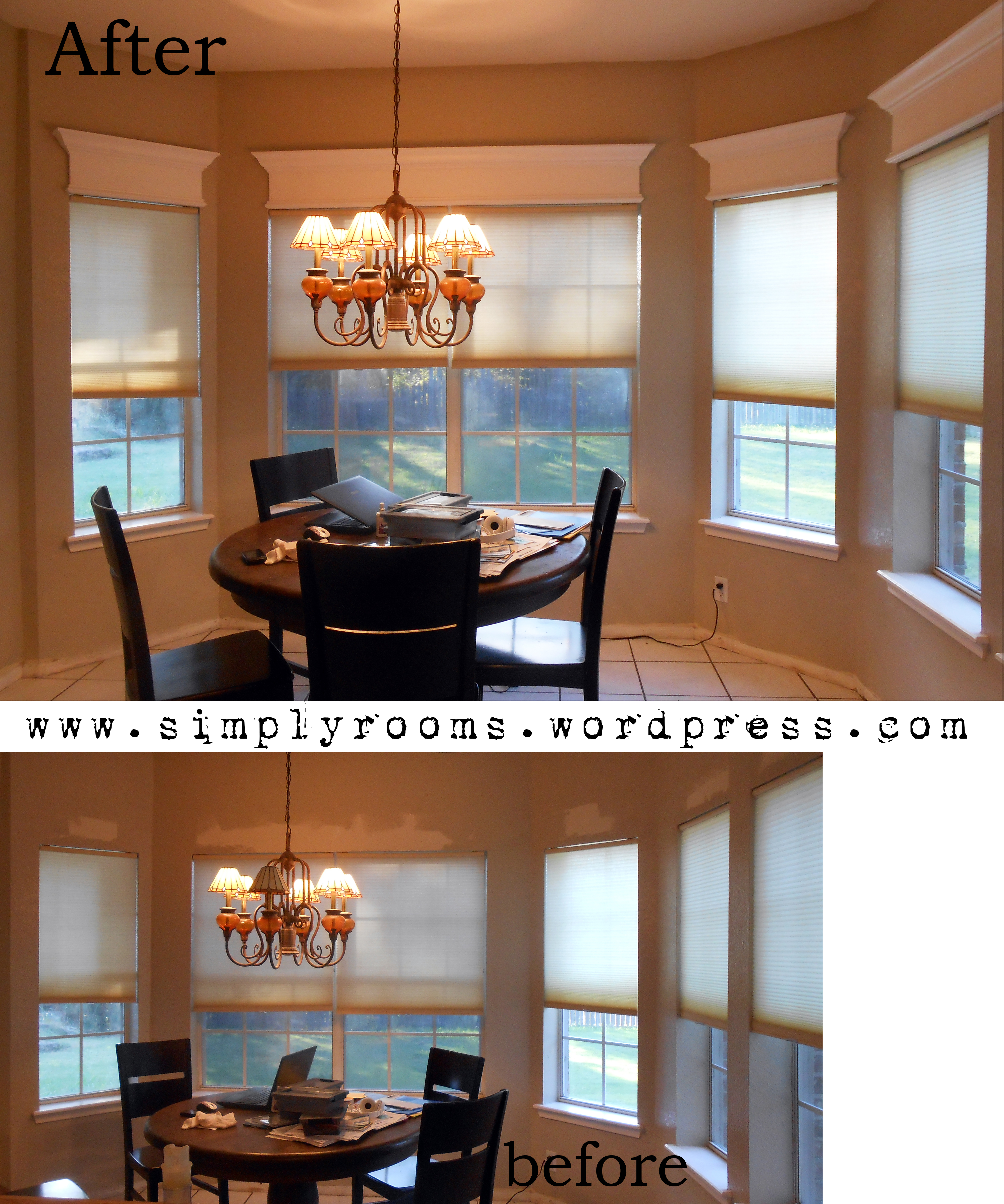 Cornices For The Kitchen Bay Window Breakfast Nook
